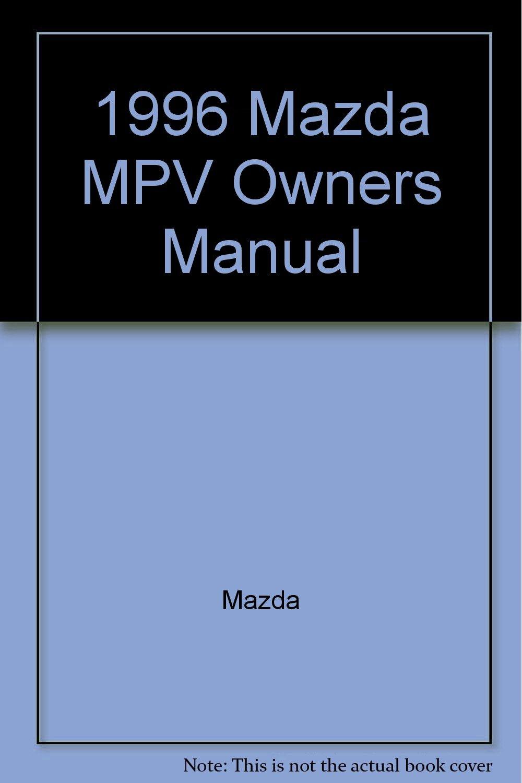manual mazda mpv 1996