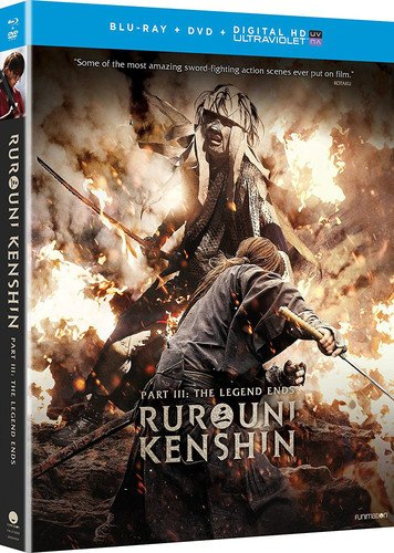 Blu-ray : Rurouni Kenshin Part III: The Legend Ends (With DVD, Ultraviolet Digital Copy, 2 Pack, 2 Disc)