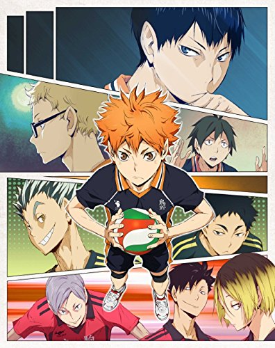 Haikyuu! Hinata Shoyo Group - High Grade Laminated Poster