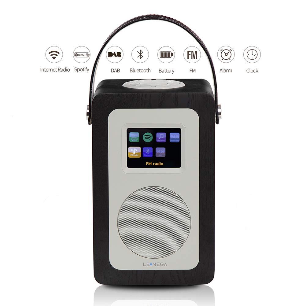 LEMEGA M6+ Radio Inteligente Portátil Con Wi-Fi, Radio Por Internet, Spotify, Bluetooth, DLNA, DAB, DAB+, Radio FM, Reloj, Alarmas, Preajustes Y Control ...