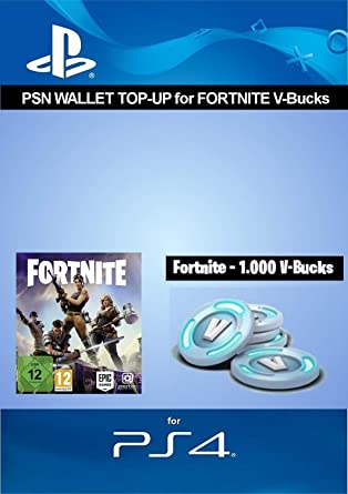PSN credit for Fortnite - 1 000 V-Bucks DLC PS4 Download