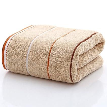 ZYJY Toallas de baño, Llanura de algodón Absorbente Grueso 70 * 140, una Variedad
