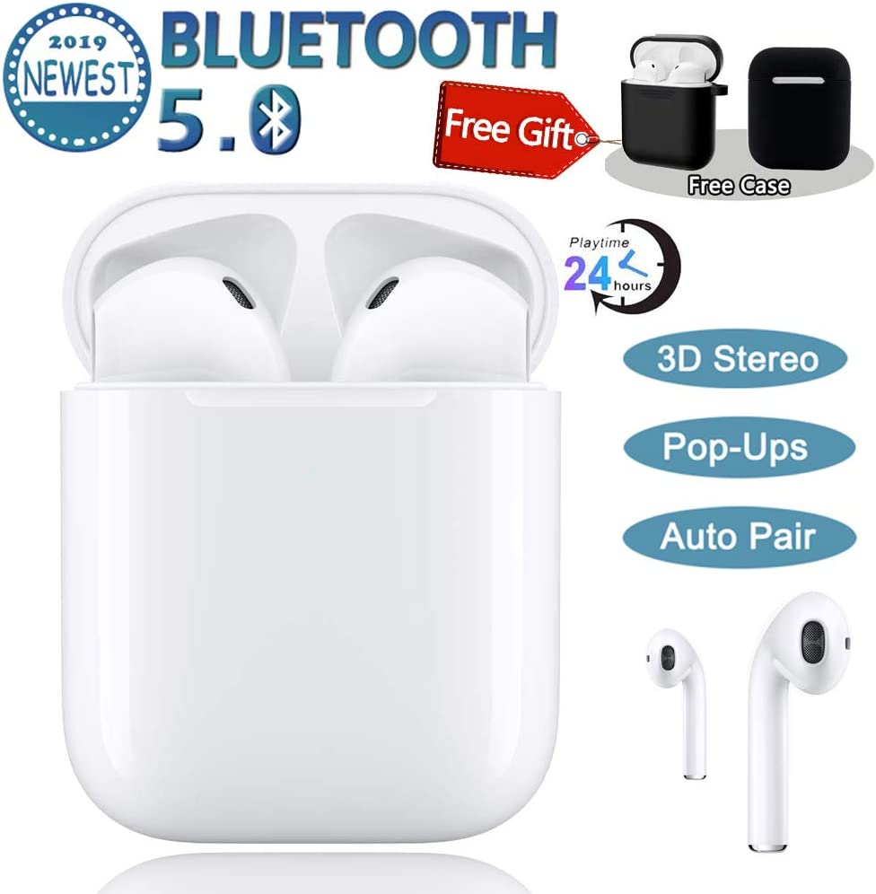 in-Ear Earphones,Wired HiFi Stereo Headphones,Earbuds with MIC,for 3.5mm Interface Devices,iPhone 6s Plus 6s iPad Macbook,Galaxy S9 S9 ,S8 Plus Note8 More – White