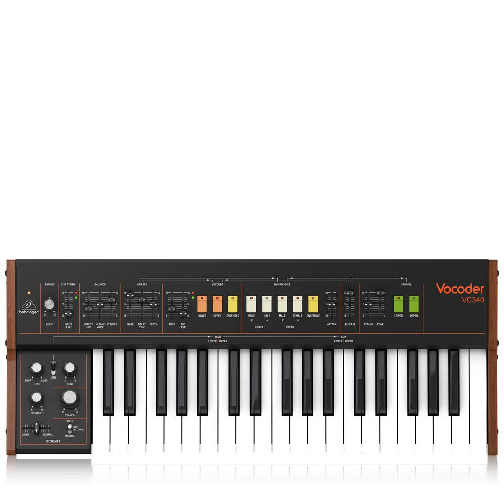 Behringer Synthesizer Software (VOCODER VC340)