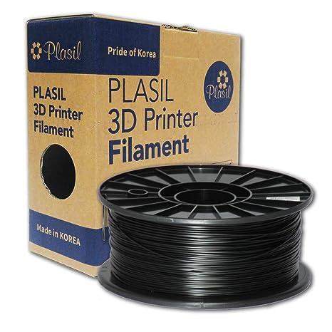 Amazon.com: plasil Corea Impresora 3d filamento Negro ABS ...
