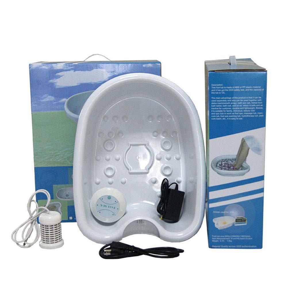 SUPVOX Pie spa masajeador baño de pies bañera pedicura spa ...