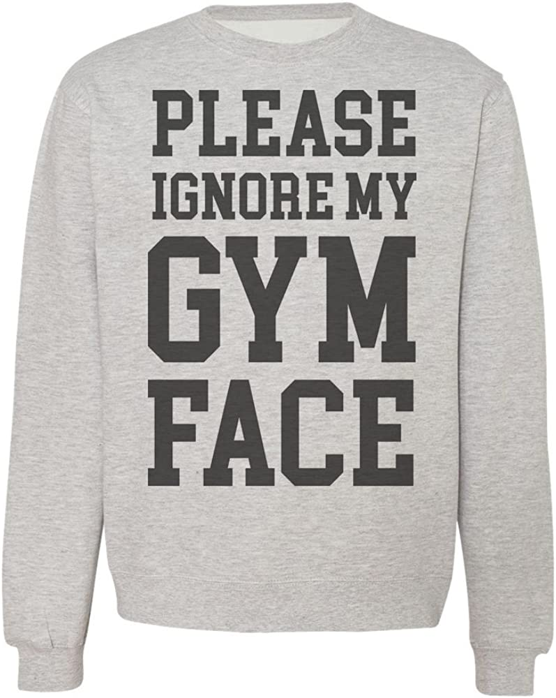IDcommerce Funny Ignore My Gym Face Design Mens T-Shirt