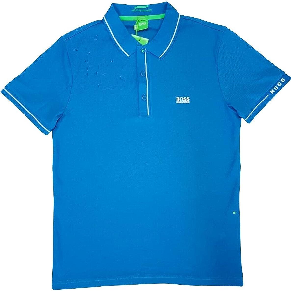 blue hugo boss polo