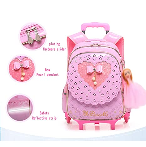 Amazon.com: Gyqjs Large Capacity Trolley Bag Boy Girl ...