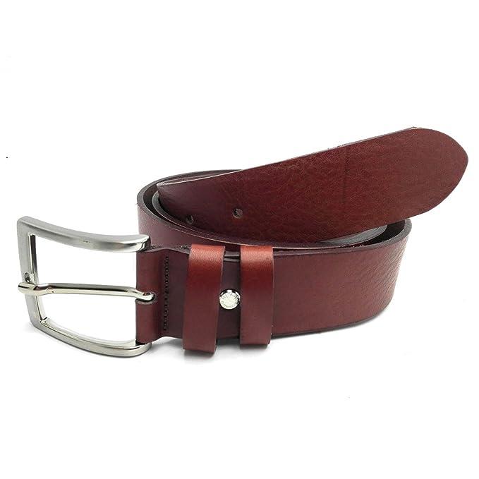 MYB Cinturón de hombre 100% piel genuina - Made In Italy - sin costuras -  varios colores y medidas  Amazon.es  Ropa y accesorios bb6af563a1a3