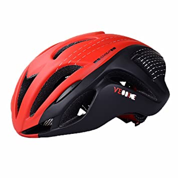 Casco de Ciclismo EPS + PC Casco de Bicicleta Ultralight Road MTB Triathlon TT Bike Helmet