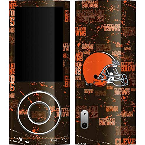 Cleveland Browns Nano - NFL Cleveland Browns iPod Nano (5G) Video Skin - Cleveland Browns - Blast Vinyl Decal Skin For Your iPod Nano (5G) Video