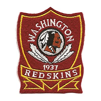 Washington Redskins Logo Patch NFL Embroidered Applique Original Limited Edition Collectible