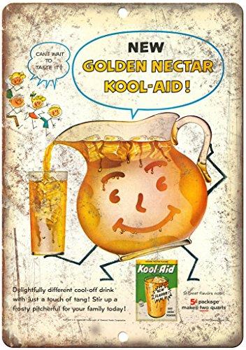 Golden Nectar Kool Aid Flavor Drink Ad 12