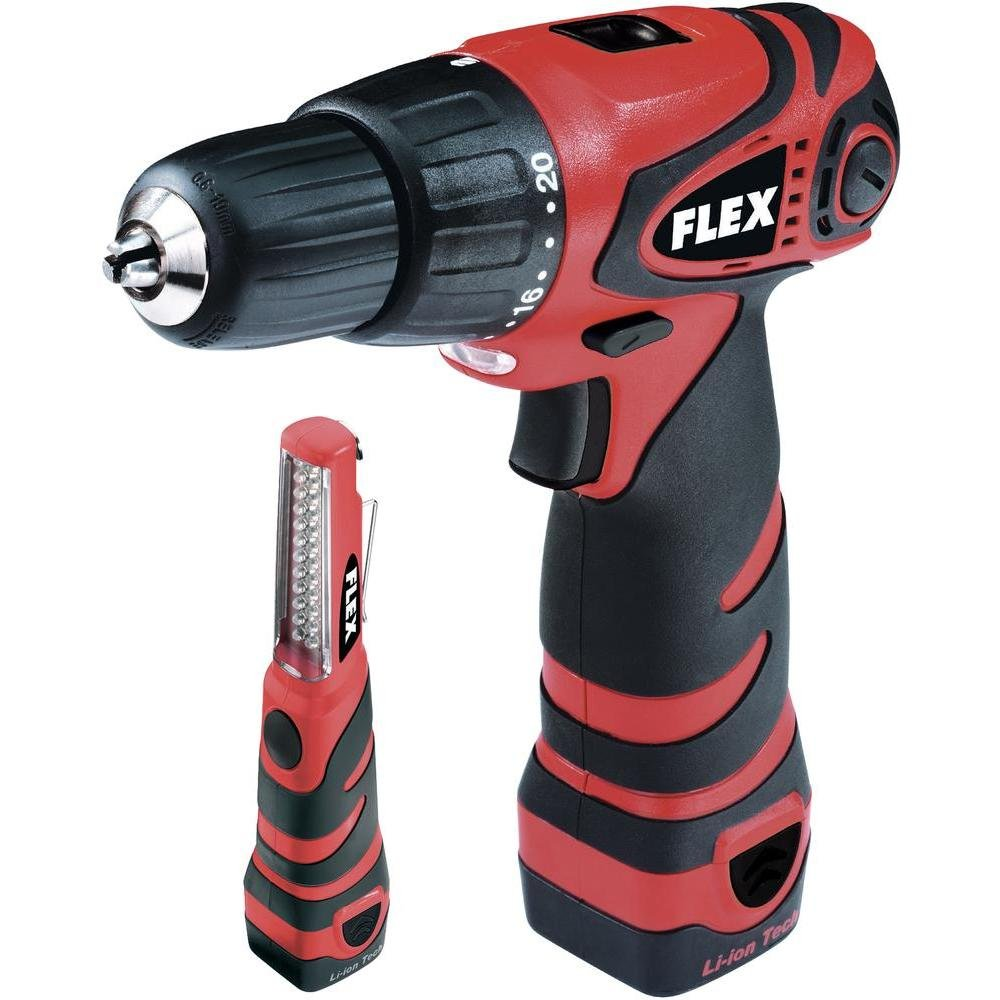 Flex Ali 10,8 G Akku-Bohrschrauber, inkl. Koffer & LED-Lampe 330129
