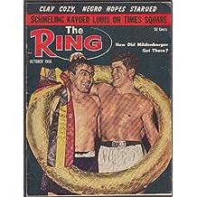 RING Cassius Clay v London, Mildenberger Schmeling-Louis Liston-Zech 10 1966