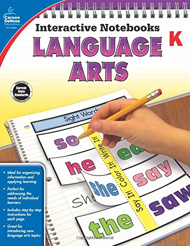 Language Arts, Grade K (Interactive Notebooks)