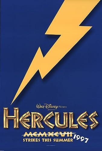 Hercules 1997 Authentic 27 X 41 Original Movie Poster