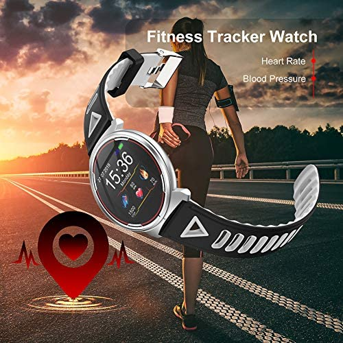 Smart Watch for iOS Android Phones, AIVEILE 2020 Version Activity Fitness Tracker Bluetooth Bracelet Waterproof Smartwatch with Blood Pressure Monitor Compatible Samsung iPhone for Men Women Kids 7