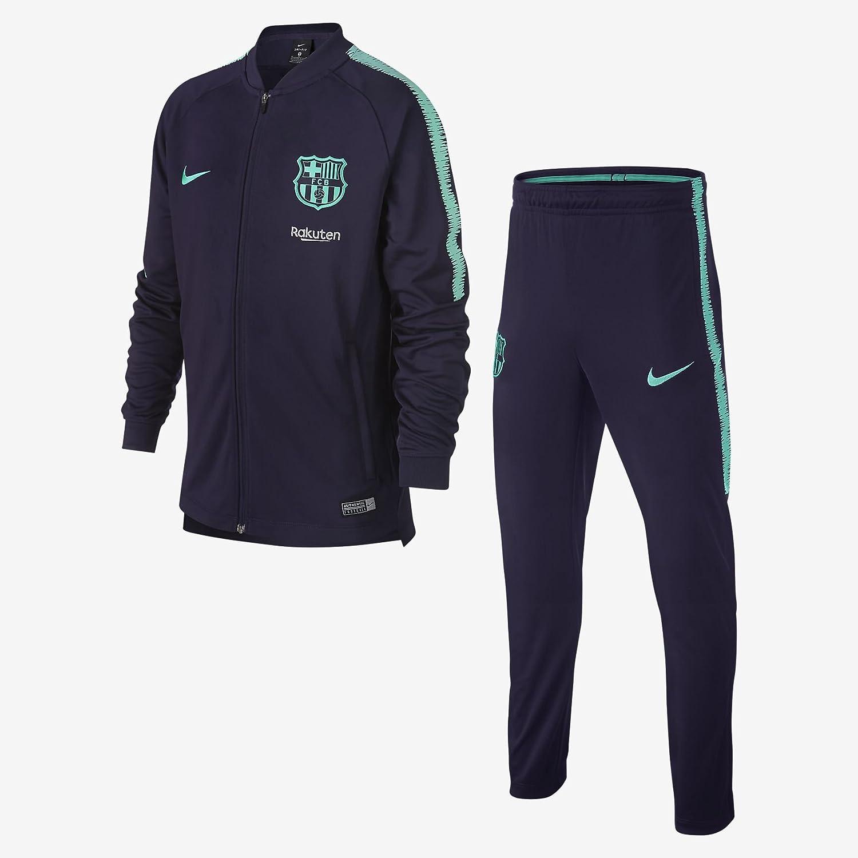 Nike FCB Y Nk Dry Sqd TRK K - Chándal, Unisex, S, Purple Dynasty ...
