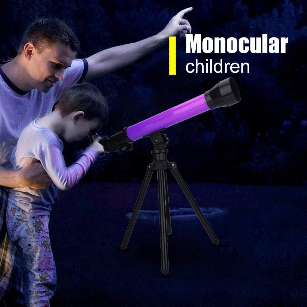 40X Astronomical Telescope with Tripod and 20X Space Kids Explorer Educational Gift for Child Observe Moon and Planet Space Blue Diyeeni Telescope for Kids Astronomy Beginners 60X Eyepiece