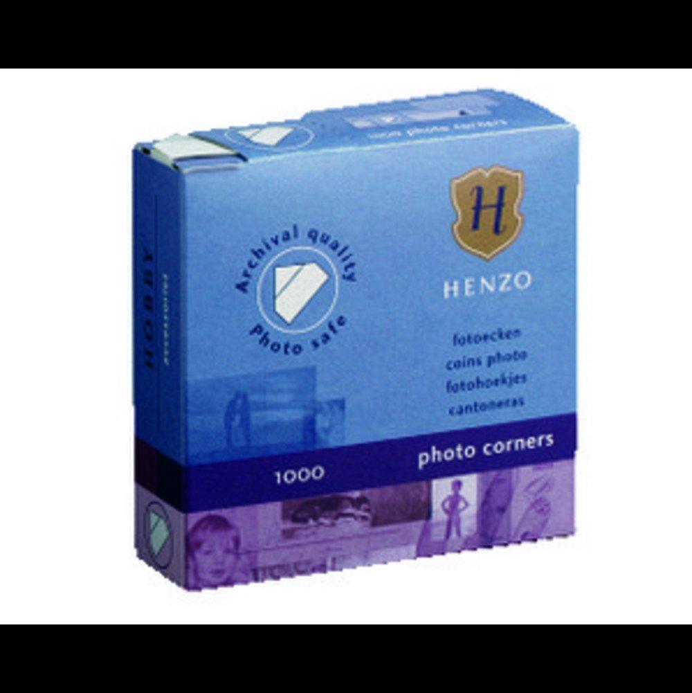 Henzo Photo Corners White 1000/x 24