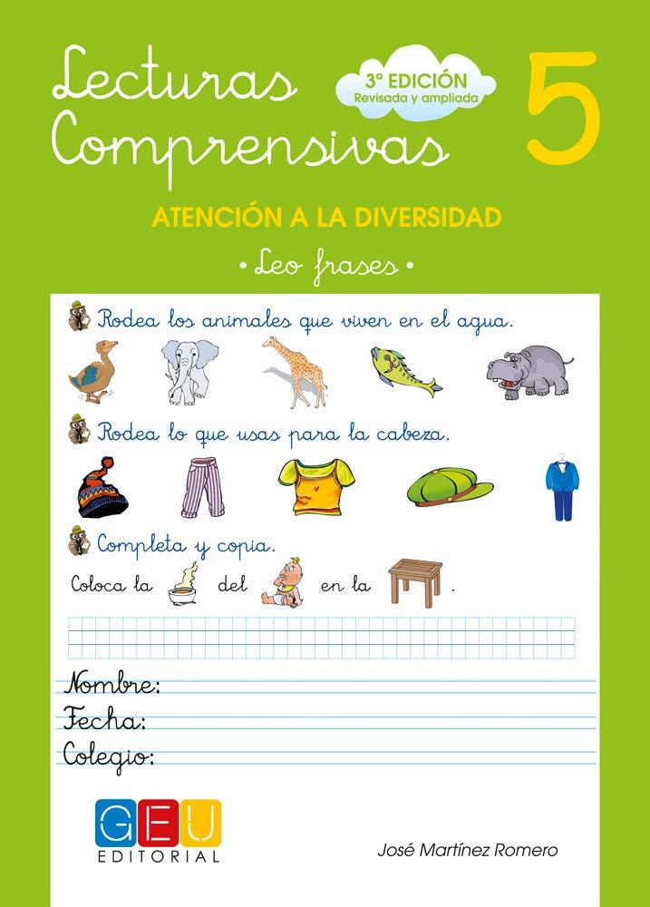 Lecturas comprensivas 5 / Editorial GEU / 1º Primaria ...