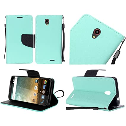 the best attitude 27235 17213 ZTE Sonata 3 Chapel Z831 case (Cricket), Luckiefind Premium PU Leather Flip  Wallet Credit Card Cover Case, Stylus Pen, Screen Protector & Wiper ...