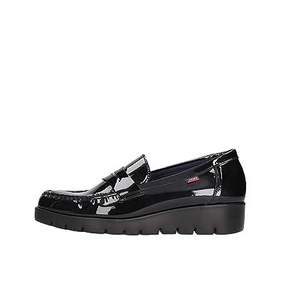 Callaghan Mocasines Zapatos de Mujer con Cuña DE 89.803 AMAN Negro Talla 37 Negro: Amazon.es: Zapatos y complementos