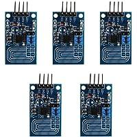 Hakeeta 5 szt. pojemnościowy dotykowy ściemniacz bezstopniowe ściemnianie panel sterowania PWM LED ściemniacz moduł…
