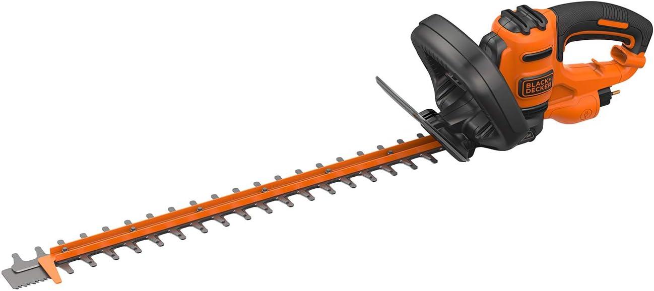 BLACK+DECKER - Cortasetos 55cm, 22mm, 500W (BEHTS401-QS)