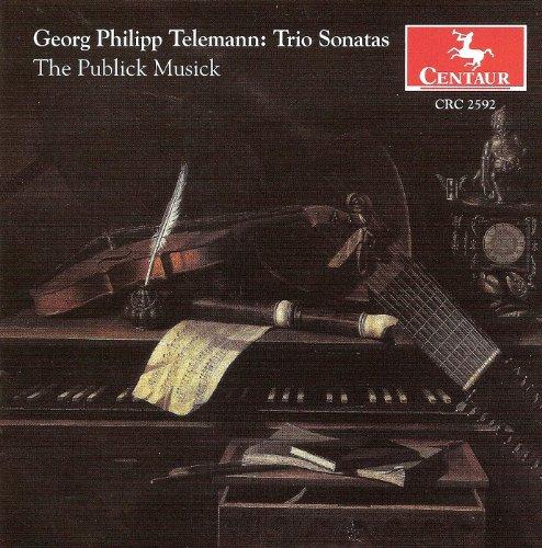 Telemann, G.P.: Chamber Music - Twv 42:D6, D9, D11, E11, F12, G15, G11 (The Publick (Publick Records)