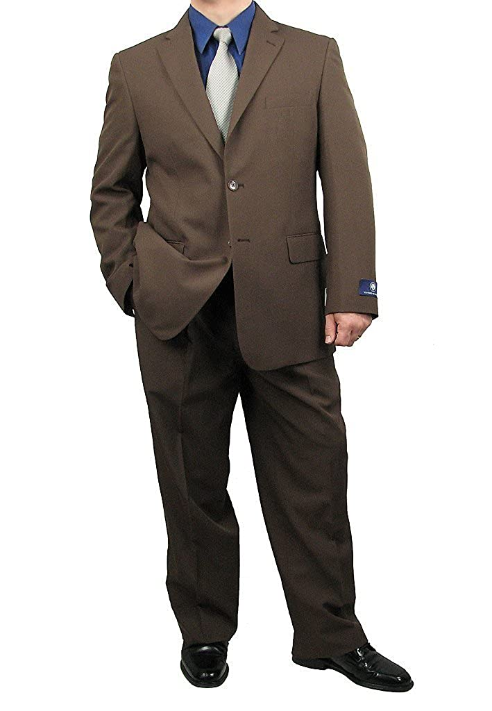Men's Vintage Style Suits, Classic Suits Sharp 2-Piece Mens 2 Button Dress Suit $109.50 AT vintagedancer.com