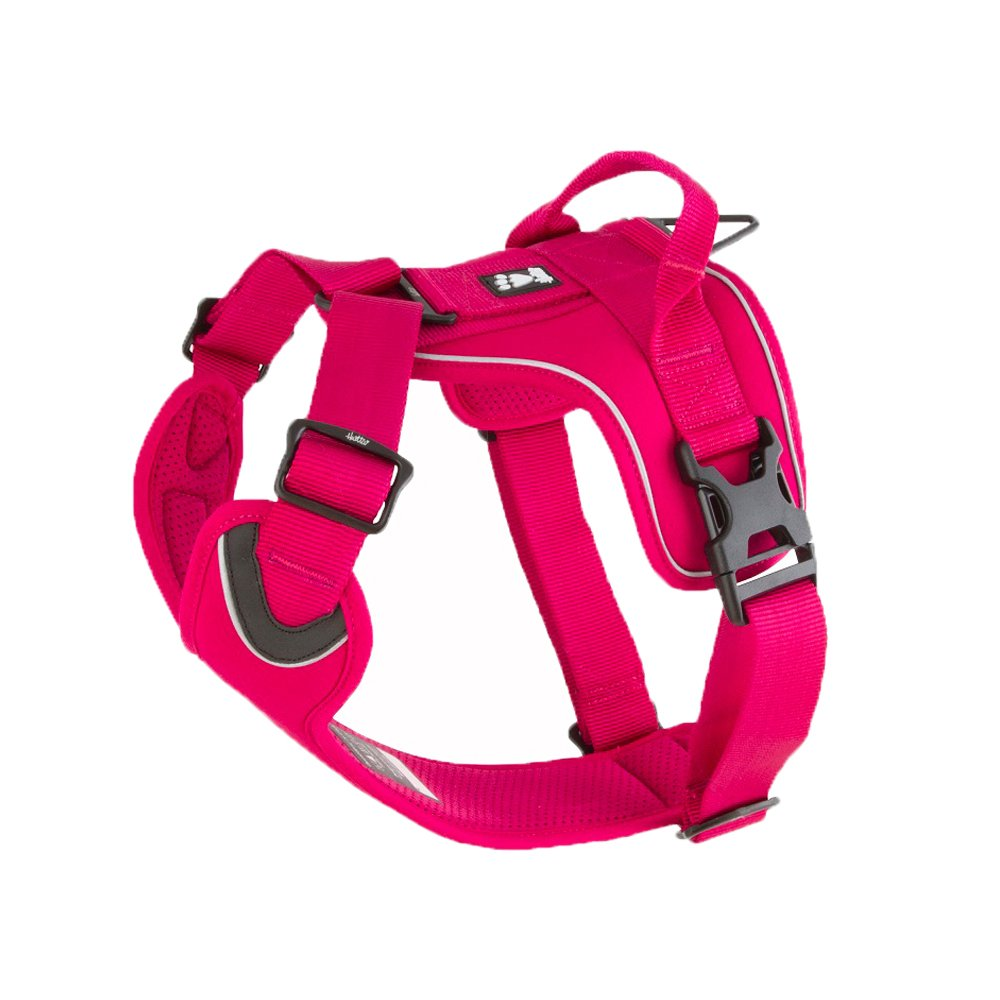 Hurtta Active Dog Harness, Cherry, 32-39 in