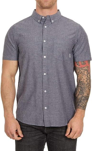 Element - Camisa - Hombre - L - Azul: Amazon.es: Ropa y accesorios