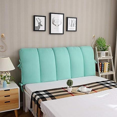 Amazon.com: WEWE cama grande tapizado cabecero relleno cojín ...
