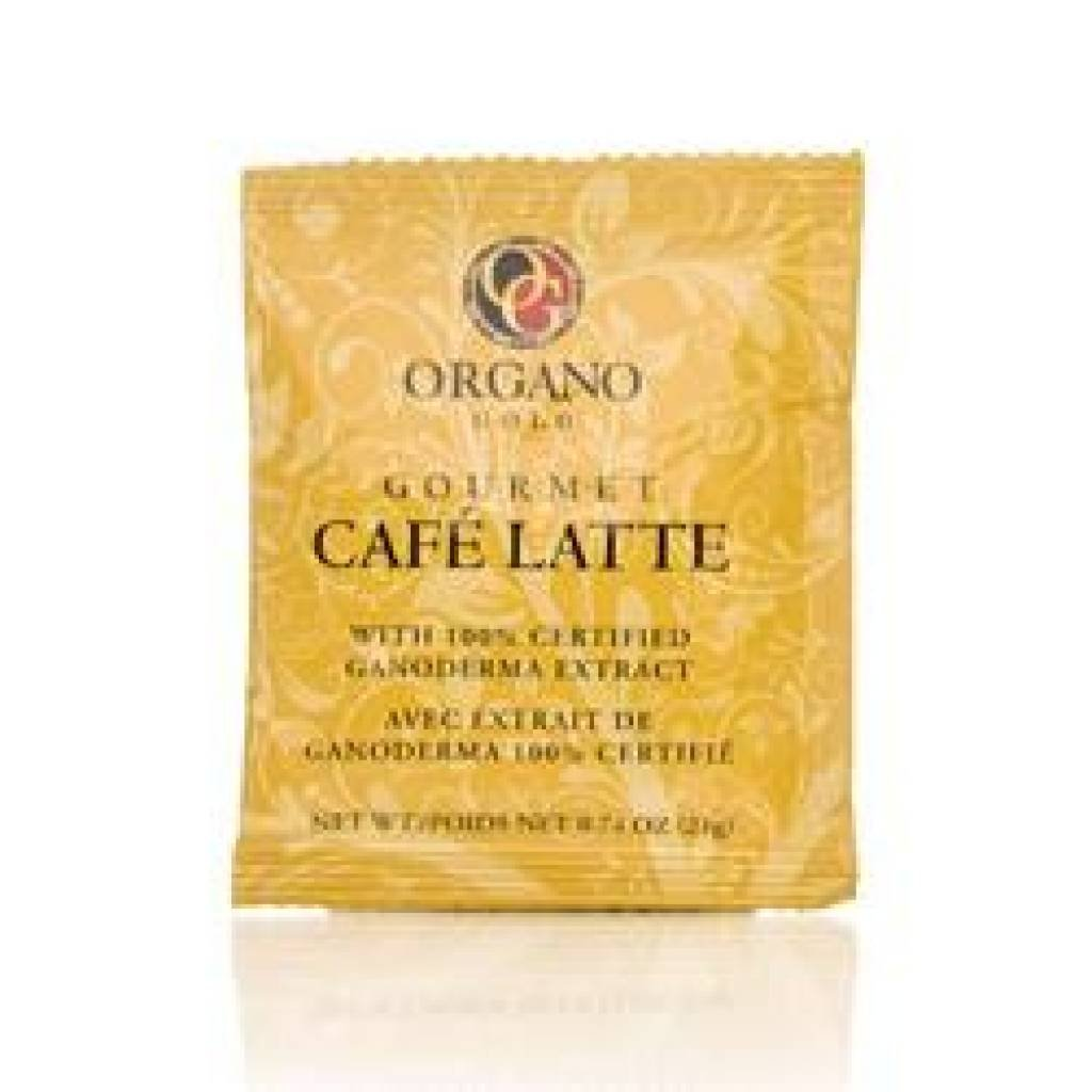 6 Box 100% Certified Organic Organic Ganoderma Gourmet Organo Gold Cafe Latte Offer Free Express by Organo Gold
