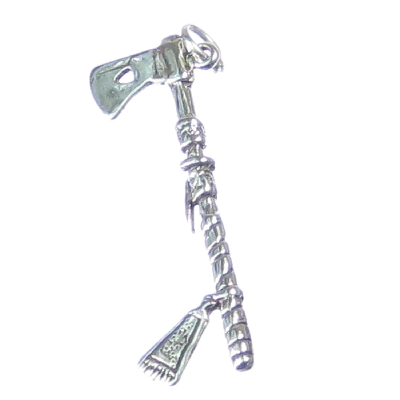 Mariposa de plata de Ley de 925. x 1 del nativo americano piqueta encantos SSC43: Amazon.es: Joyería