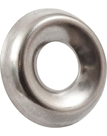 #10 Countersunk Prime-Line 9083749 Finishing Washers Brass Plated Steel 50-Pack