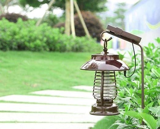 LJLDP Tipo de Descarga eléctrica Hogar Solar LED Jardín Impermeable al Aire Libre 220 (V): Amazon.es: Jardín