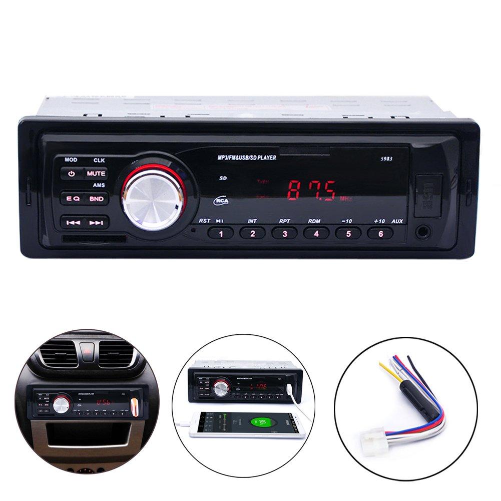 autoradio mp3 usb sd radio voiture poste radio usb radio mp3 r cepteur support t l phone. Black Bedroom Furniture Sets. Home Design Ideas