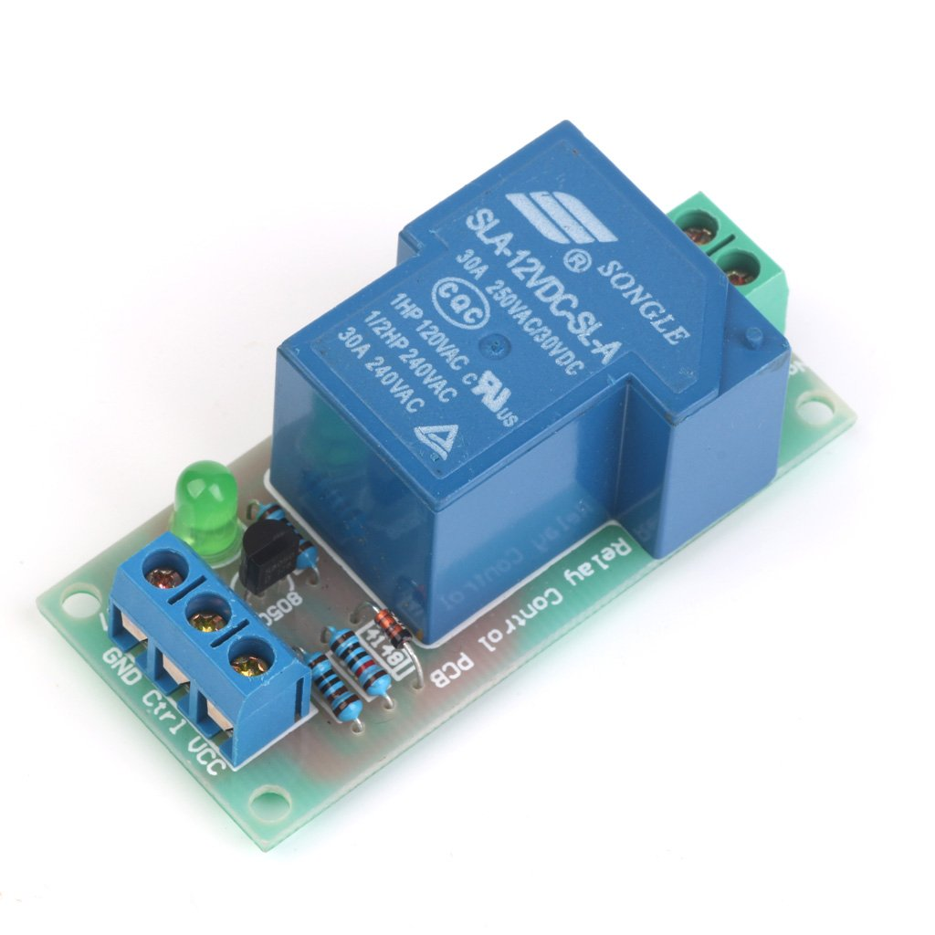 High-power Input Relay Module Optocoupler Isolation 5-12V 30A Generic 14012411