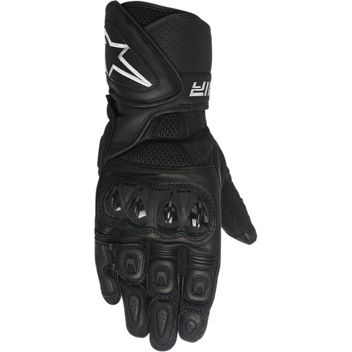 Alpinestars SP Air Men's Street Motorcycle Gloves - Black / Large