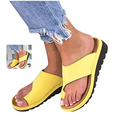 Womens Fashion Flats Wedges Comfy Platform Sandal Shoes,Summer Open Toe Ankle Casual Shoes Roman