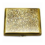 Antique Gold-tone or Silver-tone Cigarette/Card Case Home Garden Living Gifts