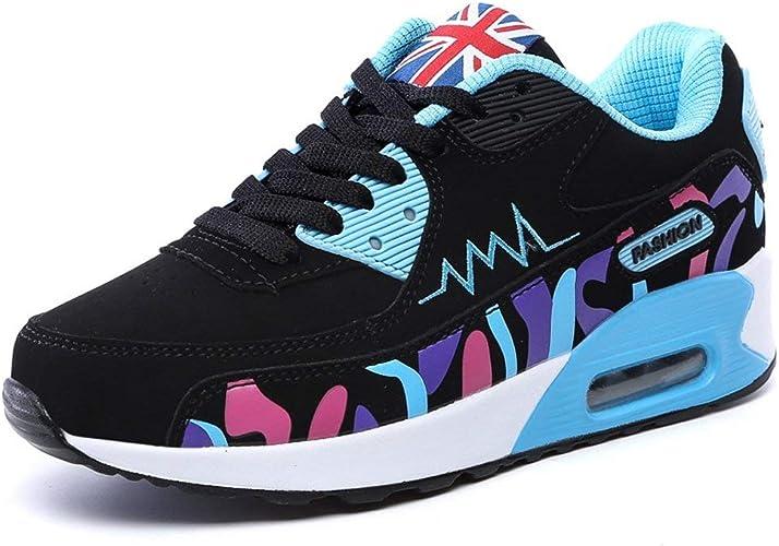 Padgene Zapatillas de Running con Aabsorción de Impactos para Chica Zapatos de Amortiguación de Aire Deportes Zapatos para Correr y Viaje: Amazon.es: Zapatos y complementos