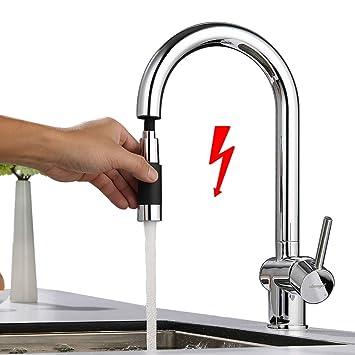 Ubeegol Niederdruck Armatur Kuche Wasserhahn 360 Drehbar