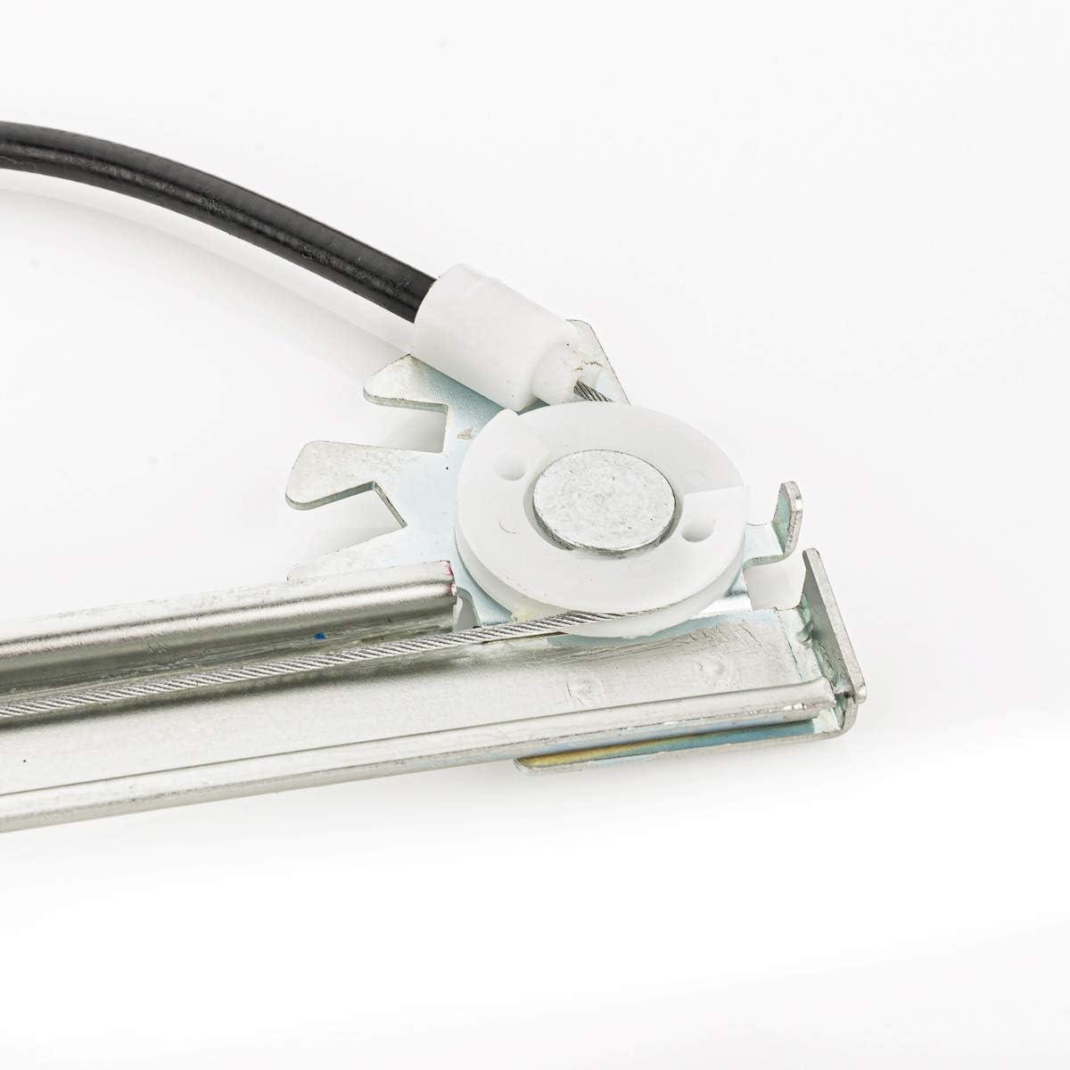 LST 2x Elektrischer Fensterheber vorne NEMO FIORINO QUBO BIPPER