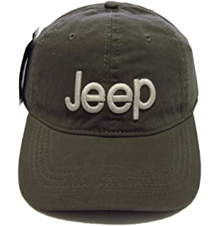 c480617bbc267 Jeep Unisex Solid Color Adjustable Cutton Baseball Cap Outdoor Sunhat with  Front Logo