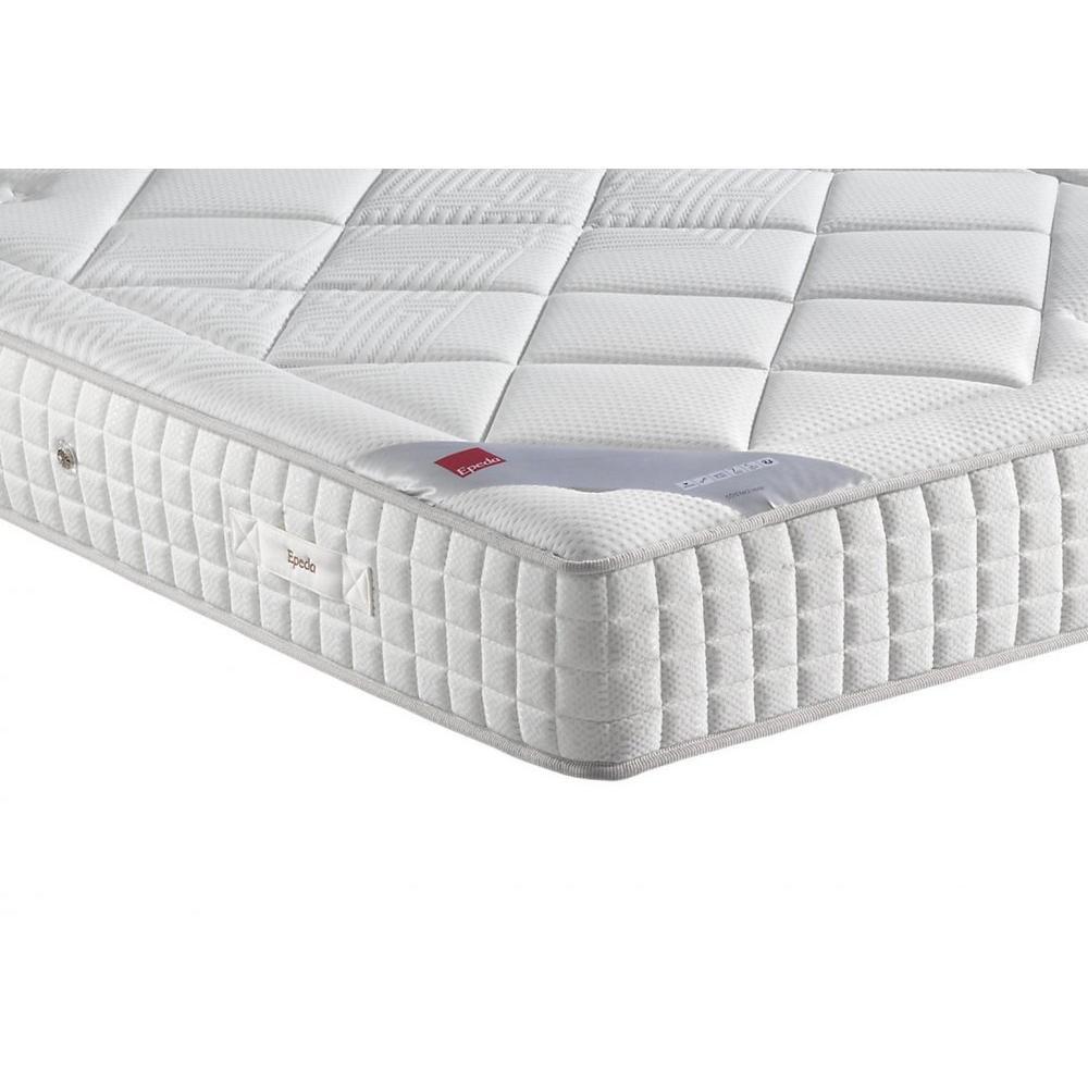 Epeda Conjunto somier Confort Medium 3 zonas con colchón terciopelo Longitud couchage190 cm: Amazon.es: Hogar